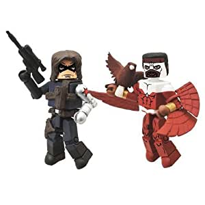 Marvel Minimates Series 54 Winter Soldier & Falcon by Diamond Select (English Manual)
