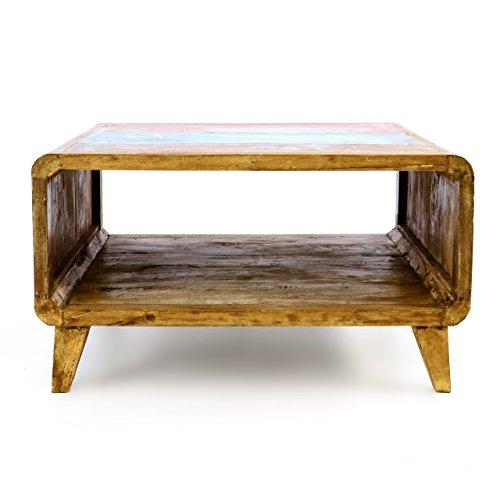 Divero Vintage Couchtisch TV Tisch Beistelltisch U2013 Shabby Chic Möbel  Unikate Aus Recycling Holz