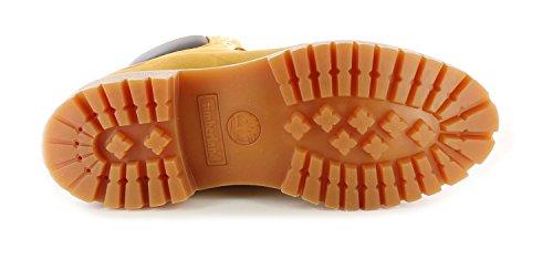 New Mens Gents Wheat Nubuck Timberland Premium Leather Fashion Boots - Wheat Nubuck - UK SIZE 7 5