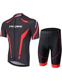 Free Fisher Pantalon Roue Lot Habillement (Maillot de cyclisme à manches courtes + de)