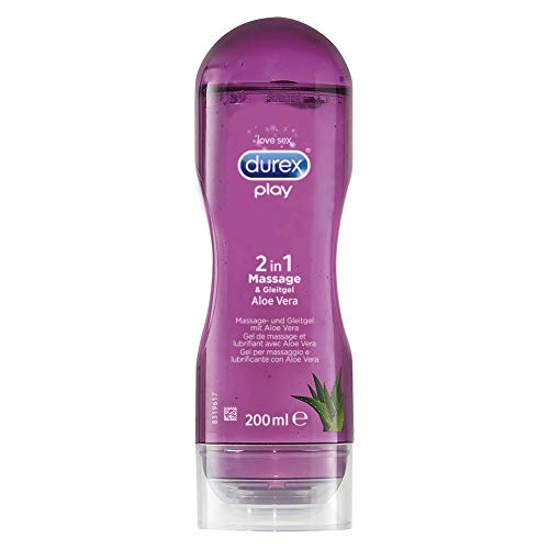 Durex Play 2in1 Massage & Gleitgel Aloe Vera, 200ml