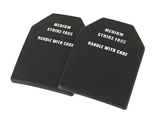 Airsoft Dummy SAPI Platten/Einlagen Kunststoff Set 2 Stück