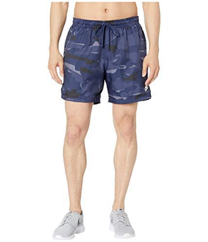 Nike Herren M NSW Ce Camo Short WVN kurz, blau/weiß Midnight Navy/White, L - Camo Kurze