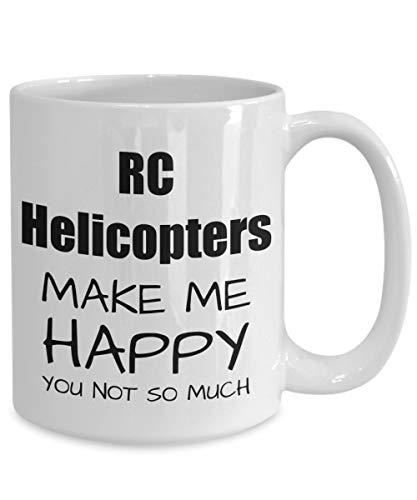 Betsy34Sophia Rc Hubschrauber Liebhaber Geschenk f¨¹r Rc Hubschrauber Liebhaber Becher lustige Rc Hubschrauber Becher lustige Rc Hubschrauber Geschenk Hubschrauber Kaffeetasse Rc Fan Geschenkidee (Top Rc Hubschrauber)