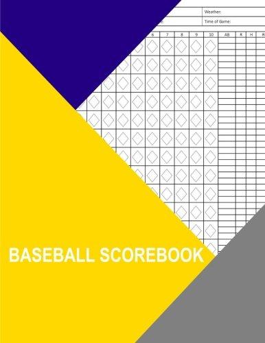 Baseball Scorebook: 350 Pages