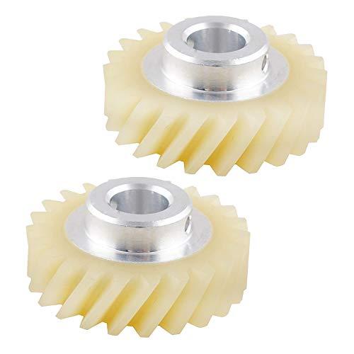 Wadoy W10112253 ruota dentata 2pc per frullatore compatibile con Kitchenaid Whirlpool Kenmore ricambio ruota dentata 4162897 W10112253 4161531 AP4295669