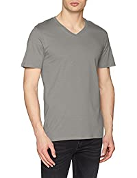JACK & JONES Jjeplain tee SS V-Neck Noos, Camiseta para Hombre