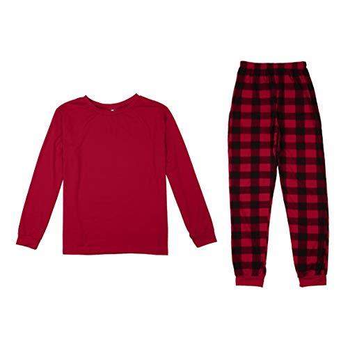 Moliies Weihnachten Familie Pyjamas Anzug Eltern-Kind-Outfit Warme Herbst Winter Nachtwäsche Anzug Mutter Vater Tochter Sohn Schlaf
