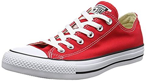 CONVERSE Chuck Taylor All Star Seasonal Ox, Unisex-Erwachsene Sneakers, Rot, 38 EU