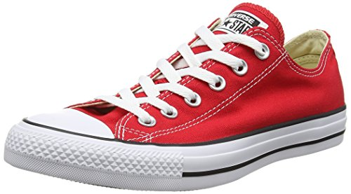 Converse All Star Chuck Taylor Ox, Baskets Unisexe - Adulto Rosso