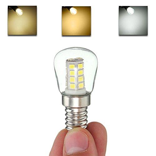 Bazaar E14 2.5W 26 SMD 2835 LED Glas Kühlschrank Gefrierschrank Appliance 360 Grad Glühlampen AC 220 V (Lampe Glühlampe Appliance)