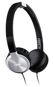 Philips SHL9450/10 Headband Headphones - Black/Aluminium