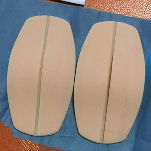 JICHUIO 2 Stück BH-Träger-Pads Dekomprimierung Anti-Rutsch-Silikon-Kissen-Schulterpolster