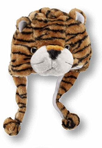 """1 STÜCK Tier-Mützen """"3D"""" für Kinder (one size, (Print Tiger Handschuhe)"""