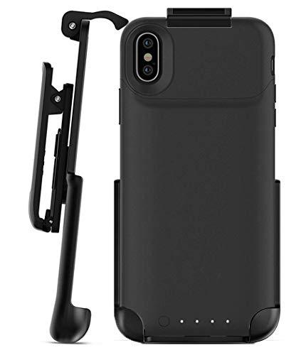 Schutzhülle für iPhone X (Gürtelclip, kompatibel mit Mophie Juice Pack) -