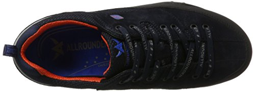Allrounder by Mephisto Tacco-Tex, Chaussures Multisport Outdoor Homme Blau (Black/Ocean)