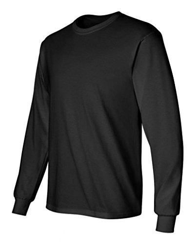 Pirate Booty auf American Apparel Fine Jersey Shirt schwarz/schwarz