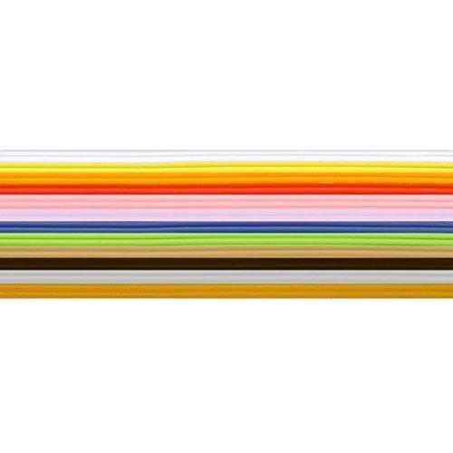 Wachsstreifen / Verzierwachs im Set 'Grundfarben' (36 Stück / 20 cm x 1 mm) TOP QUALITÄT