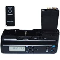 Polaroid Poignée d'alimentation / Bouton de déclenchement vertical pour Canon EOS 550D et 600D Écran LCD et télécommande (Import Royaume Uni)