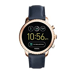 Fossil Explorist Black Dial Men's Smart Watch - FTW4002