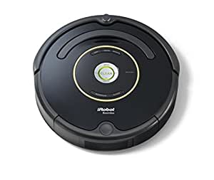 iRobot Roomba 650 Saugroboter (33 Watt, hohe Reinigungsleistung, Reinigung nach Ihrem Zeitplan, geeignet bei Tierhaaren) schwarz