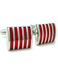 SODIAL (R) 5-tira mancuernas del esmalte rojo