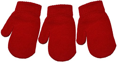 3-Pairs-of-BabyToddler-Magic-Mittens-Various-Colours-One-Size-Unisex-Acrylic