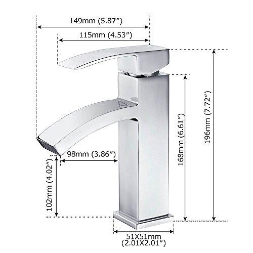 Homelody® Wasserfall Armatur - 3