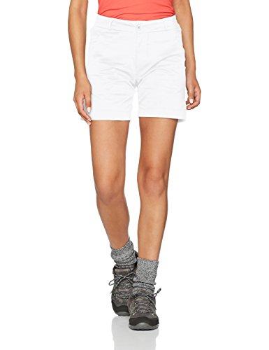 Helly Hansen W Crews, Pantalones Cortos para Mujer, Blanco, Tamaño del fabricante:34