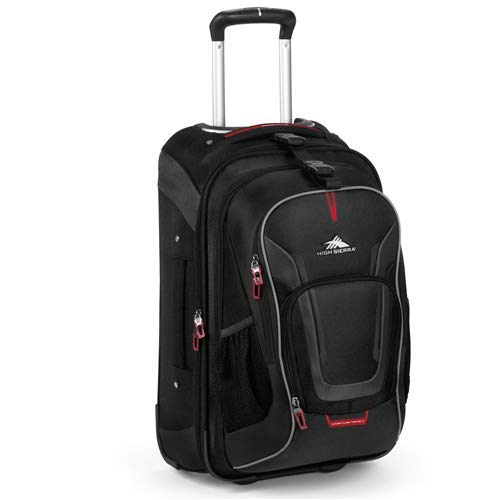 High Sierra AT7 Carry-on Wheeled Backpack with removable daypack - High Sierra Wheeled Backpack