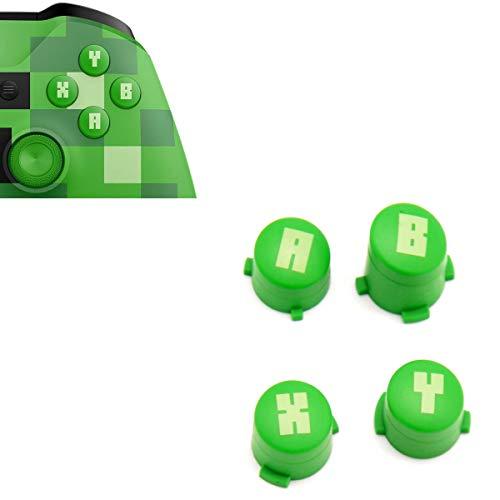 A B X Y Knöpfe grün Green for Minecraft