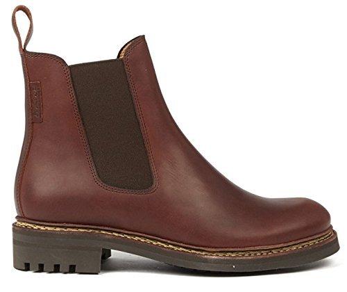 Aigle Monbrison Casual Damen Chelsea Boots Rot (Redwood 8)