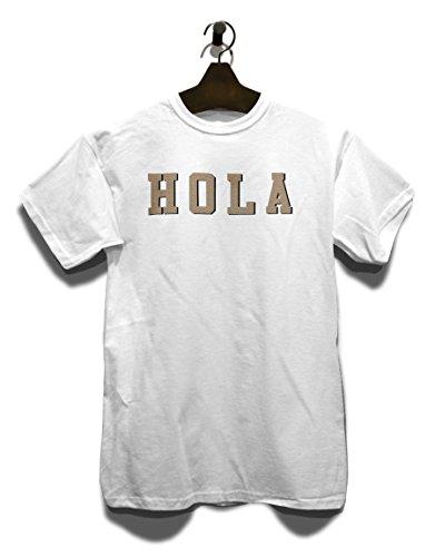 Hola T-Shirt Weiß