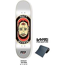 Monopatín skate skateboard FLIP Berger weirdo 8,0¨