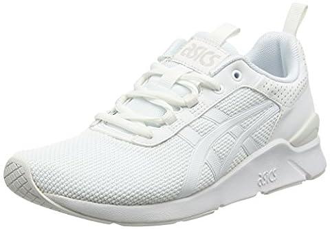 Asics Gel-Lyte Runner, Chaussures de Running Compétition Mixte Adulte, Blanc (White/White), 38 EU