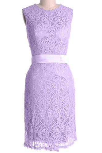 MACloth - Robe - Crayon - Sans Manche - Femme Violet - Lavande
