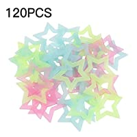 AIMERKUP Glow in The Dark Stars for Kids Amazing for Kids and Toddlers Decorations Wall Stickers for Kids Room Classic 120 piezas Multi-Coloured