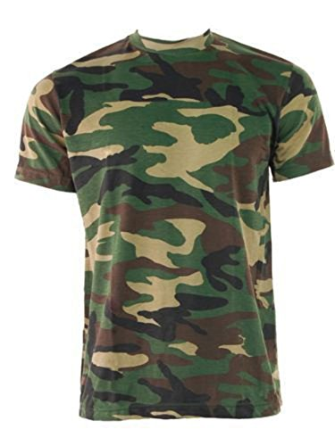 milspec-surplus-t-shirt-col-ras-du-cou-homme-vert-woodland-camouflage-vert-x-large