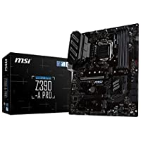 MSI Z390-A PRO LGA1151 (Intel 8th and 9th Gen) M.2 USB 3.1 Gen 2 DDR4 HDMI DP CFX Dual Gigabit LAN ATX Z390 Gaming Motherboard