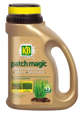 KB Patch Magic semi per tappeto erboso con concime e fibra di cocco