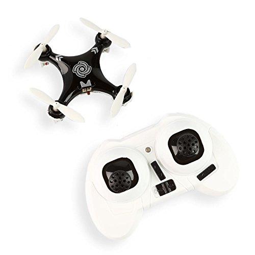 Preisvergleich Produktbild Cheerson CX-10A Mini Headless Mode 2.4G 4CH 6 Axis RC Quadcopter NANO Drone UFO, 3 Geschwindigkeit zur Auswahl Schwarz