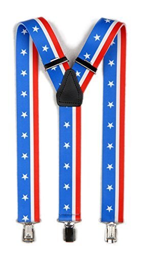 Hosenträger Y Form: Stars and Stripes