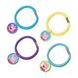 Amscan Peppa Pig Birthday Party Hair Pony-O Accessory, Multicolor, 1 3/4'