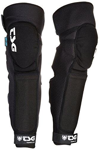 TSG Erwachsene Knee-Shinguard Temper A 2.0 Schienbeinschoner, Black, S