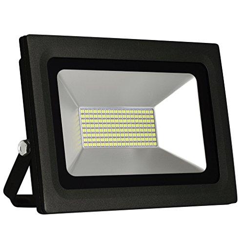 Solla® 60w LED Fluter Außenstrahler 4800Lumen 230V IP65 Warmweiß, IP65 Wasserfest, LED Scheinwerfer Außenleuchten