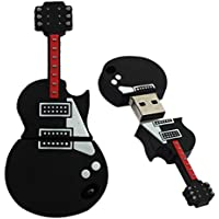 memorias usb 2.0, diseño de guitarra - Sannysis memoria flash Drive de USB Almacenamiento de datos externo Apoyos Windows 7/8/98 / Me / 2000 / XP / Vista / Linux 2.4, Mac OS 9.0 y superior (8GB)
