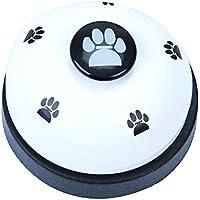 Naisicatar Haustier-Trainingsgerät für Hunde, Welpen, Zum Trainieren von Tinkerbläschen und Kommunikationsgeräten # Weiß # X 1