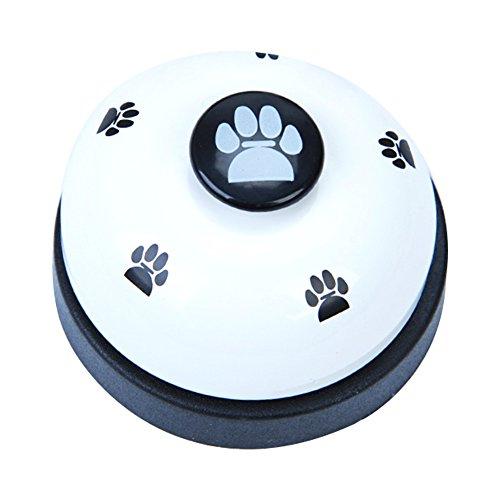 Trifycore Bell-Bell-Haustier-Hunde Potty Training für die Ausbildung und als Kommunikationsgerät Hund Glocke nach draußen zu gehen - wissen, kleinen Tierbedarf
