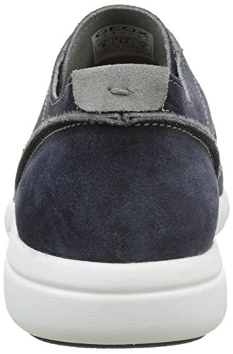 Geox Herren U Brattley A Low-Top Blau (Navyc4002)