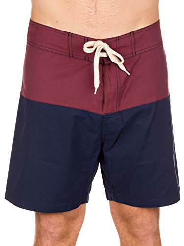 Herren Boardshorts Lightning Bolt Surfari Boardshorts red mahogany